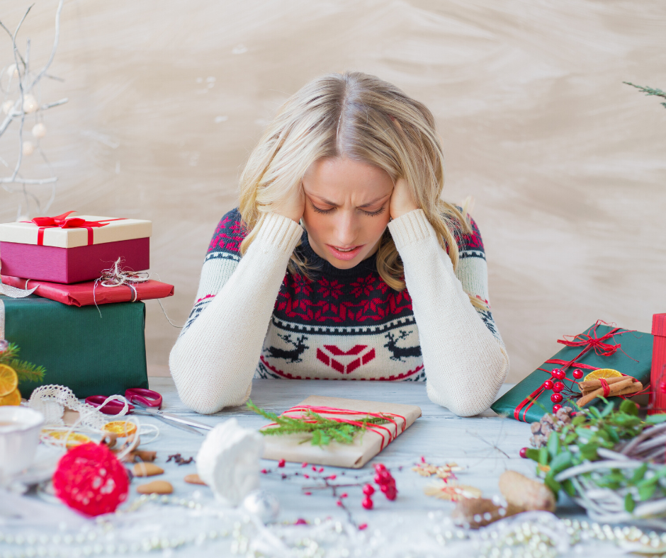 Follow these simple steps to de-stress this holiday season.