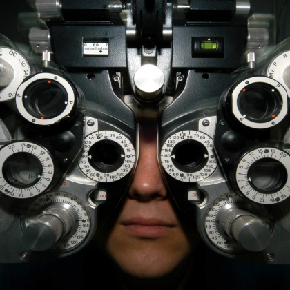 Taking care of your health is so important. Be sure to visit the eye doctor once a year.